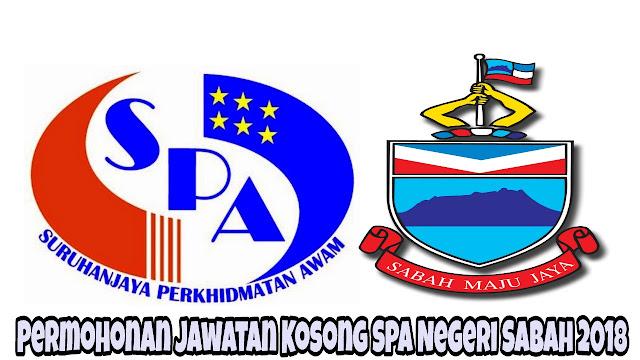 Permohonan Jawatan Kosong SPA Negeri Sabah 2021