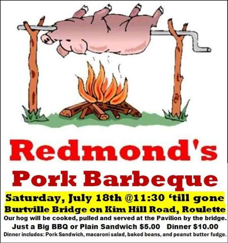 7-18 Redmond's Port BBQ, Burtville Bridge