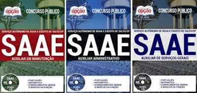 Apostila SAAE do município de Salto - SP 2017