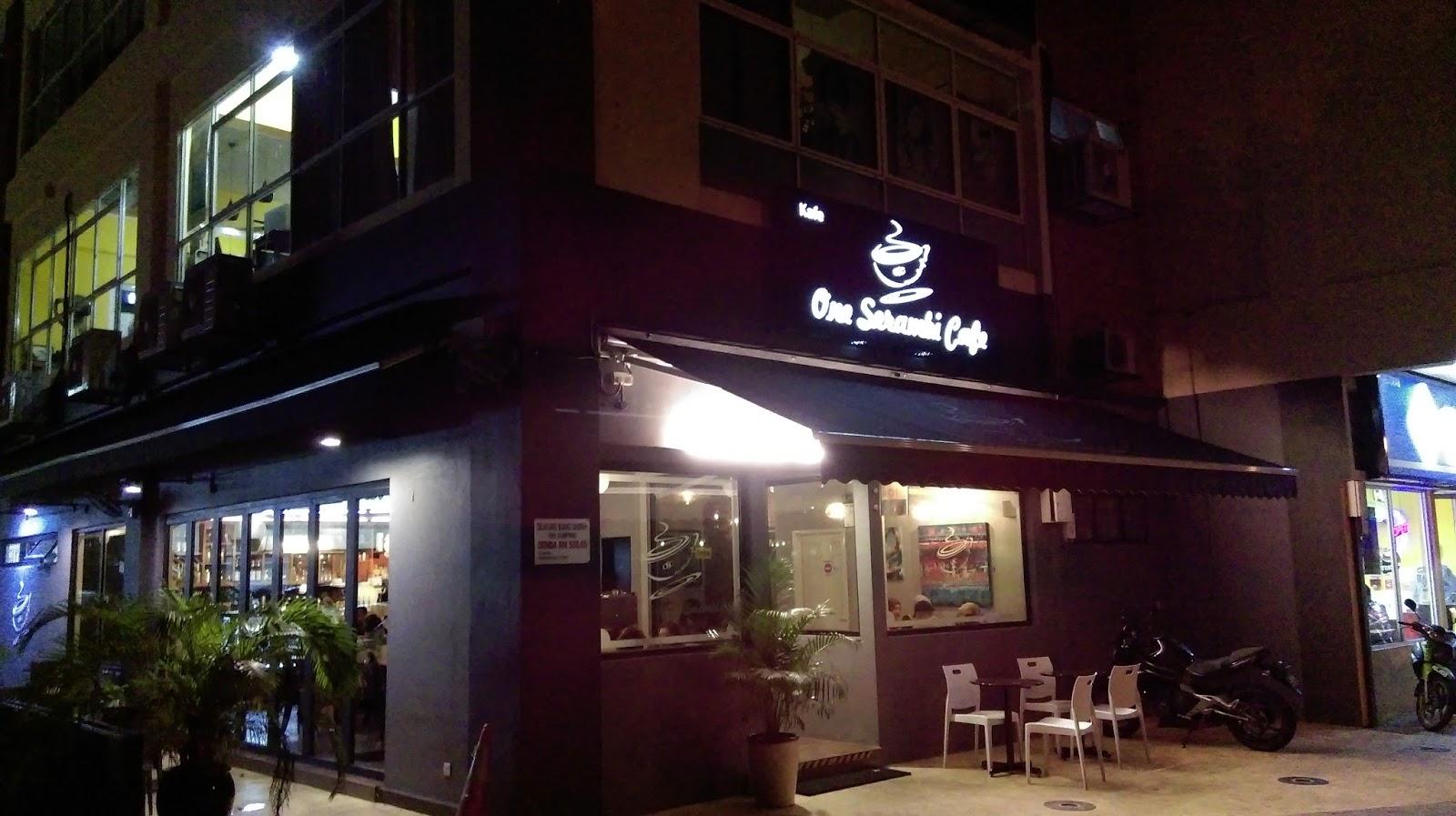 Tempat Makan Best di Shah Alam: one serambi cafe