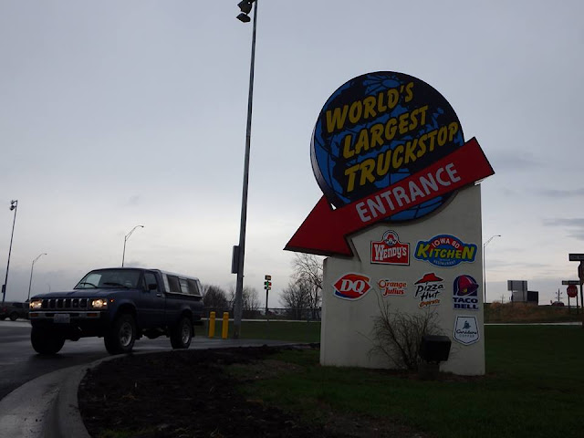 truck stop, i-80, worlds largest, road trip, toyota, adventure