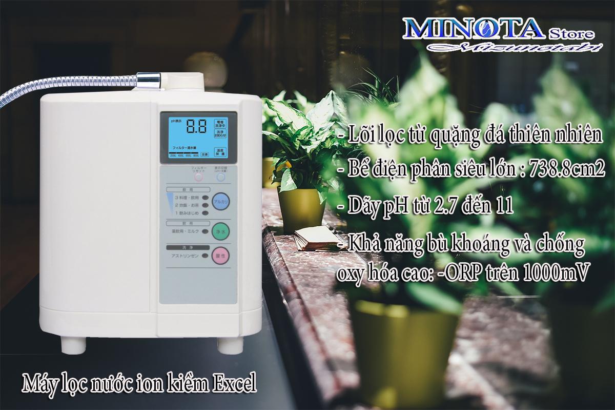máy lọc nước điện giải Excel-h1