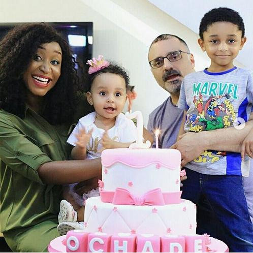 Michelle-Ashionye-Raccah-family-photos