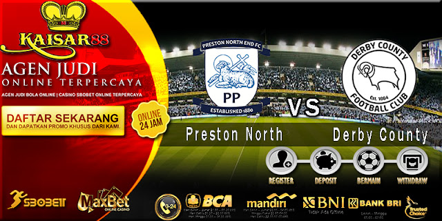 Prediksi Bola Jitu Preston North End vs Derby County 2 April 2018