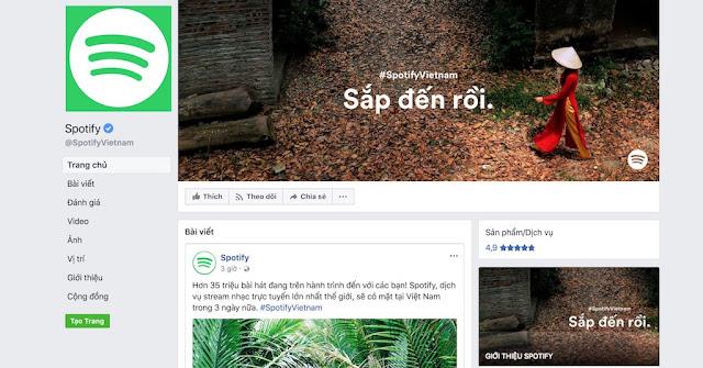 Dịch vụ nghe nhạc online nổi tiếng Spotify chính thức xác nhận vào Việt Nam trong 1 ngày nữa