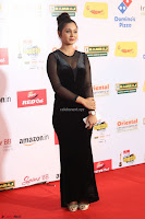 Vennela in Transparent Black Skin Tight Backless Stunning Dress at Mirchi Music Awards South 2017 ~  Exclusive Celebrities Galleries 100.JPG