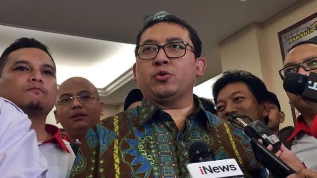Fadli Zon soal Rangkap Jabatan: Jokowi Seperti Menjilat Ludah Sendiri