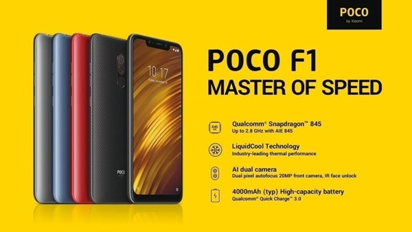 Pocophone F1 MIUI 10 3 4 Update released with Widevine L1 support