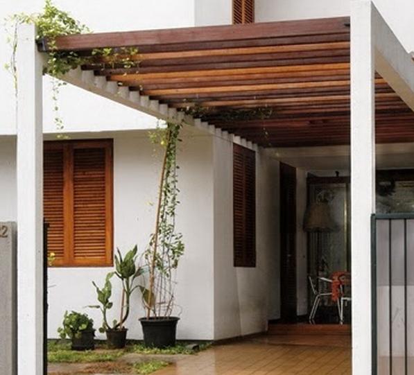 kanopi gantung baja ringan 10 model untuk garasi rumah inspirasi terbaik