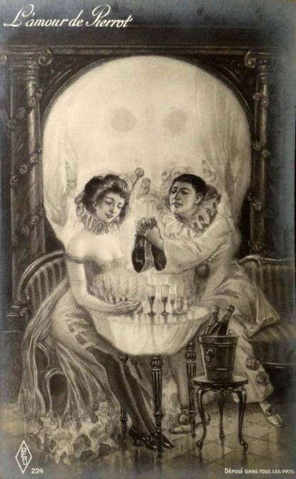 L'amour de Pierrot, metamorphic art