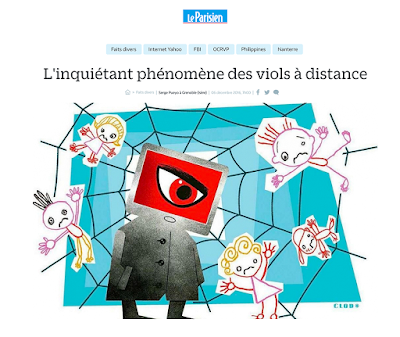 Clod illustration illustrateur illustrator article fait-divers le Parisien Aujourd'hui en France