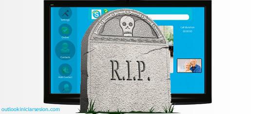 mueres skype para television