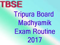 Tripura Board 10th Time Table 2016