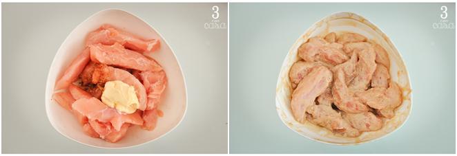 como fazer frango gergelim