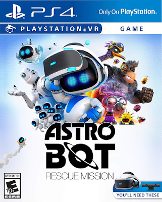 Astro Bot Rescue Mission Game Cover Ps4