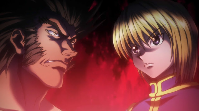wallpaper hunter x hunter kurapika vs uvogin