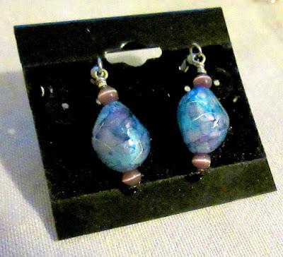 90s hacker cybertwee computer science blogger gamer blue silver purple sciart earrings