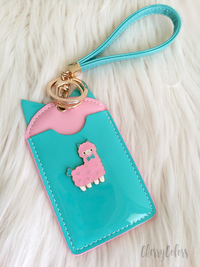 alpaca card holder