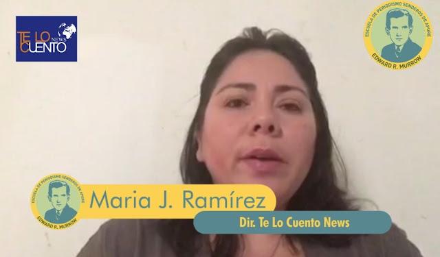 Clase Virtual: Emprendimiento de Te Lo Cuento News en Escuela Periodismo Edward Murrow de Senderos de Apure. (VIDEO)