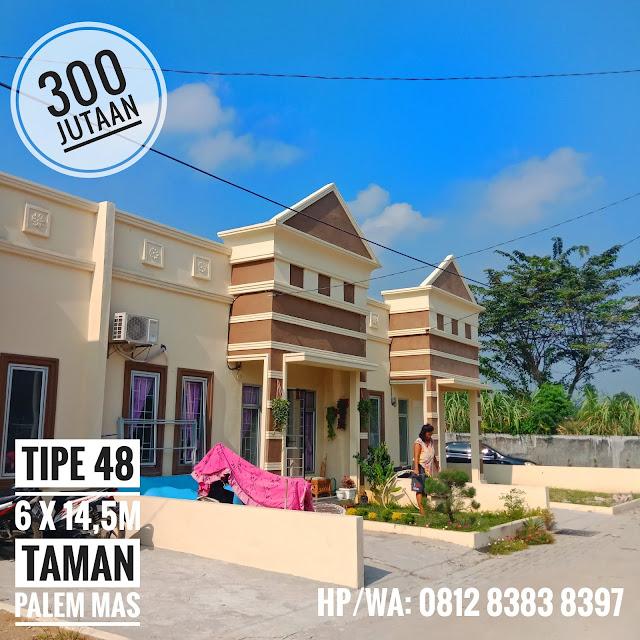 Beli Rumah Tipe 48 Gratis Biaya KPR, Pajak, Notaris Dan DP 10 Juta Di Taman Palem Mas Jalan Madirsan Tanjung Morawa Medan