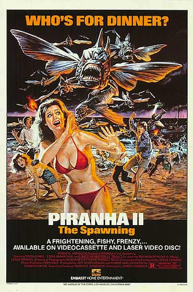 Piranha 2 The Spawning (1981) Dual Audio Hindi 720p BluRay ESubs Free Download
