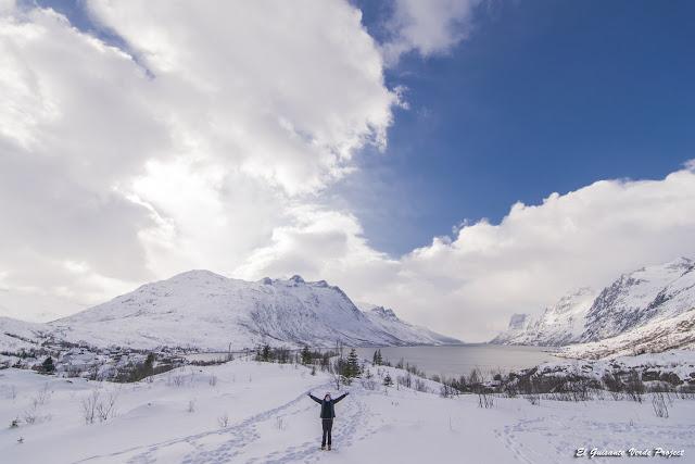 Ersfjordbotn, Kvaløya - Tromso por El Guisante Verde Project