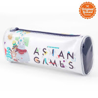 Alfacart Asian Games 2018 Pencil Case White ANDHIMIND