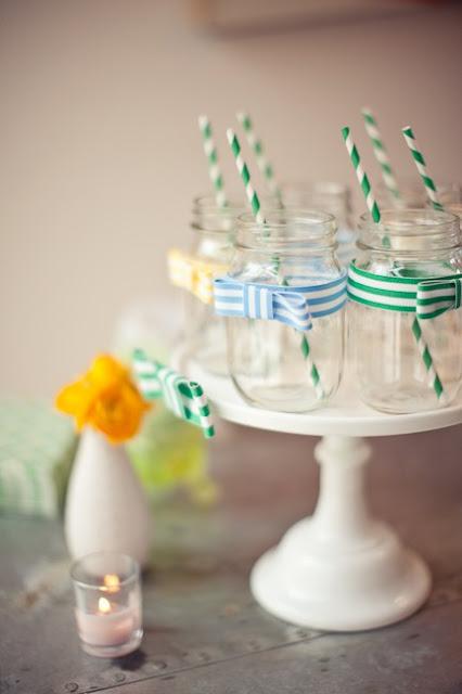 10 DIY Mason Jar Wedding Ideas by Oh Lovely Day