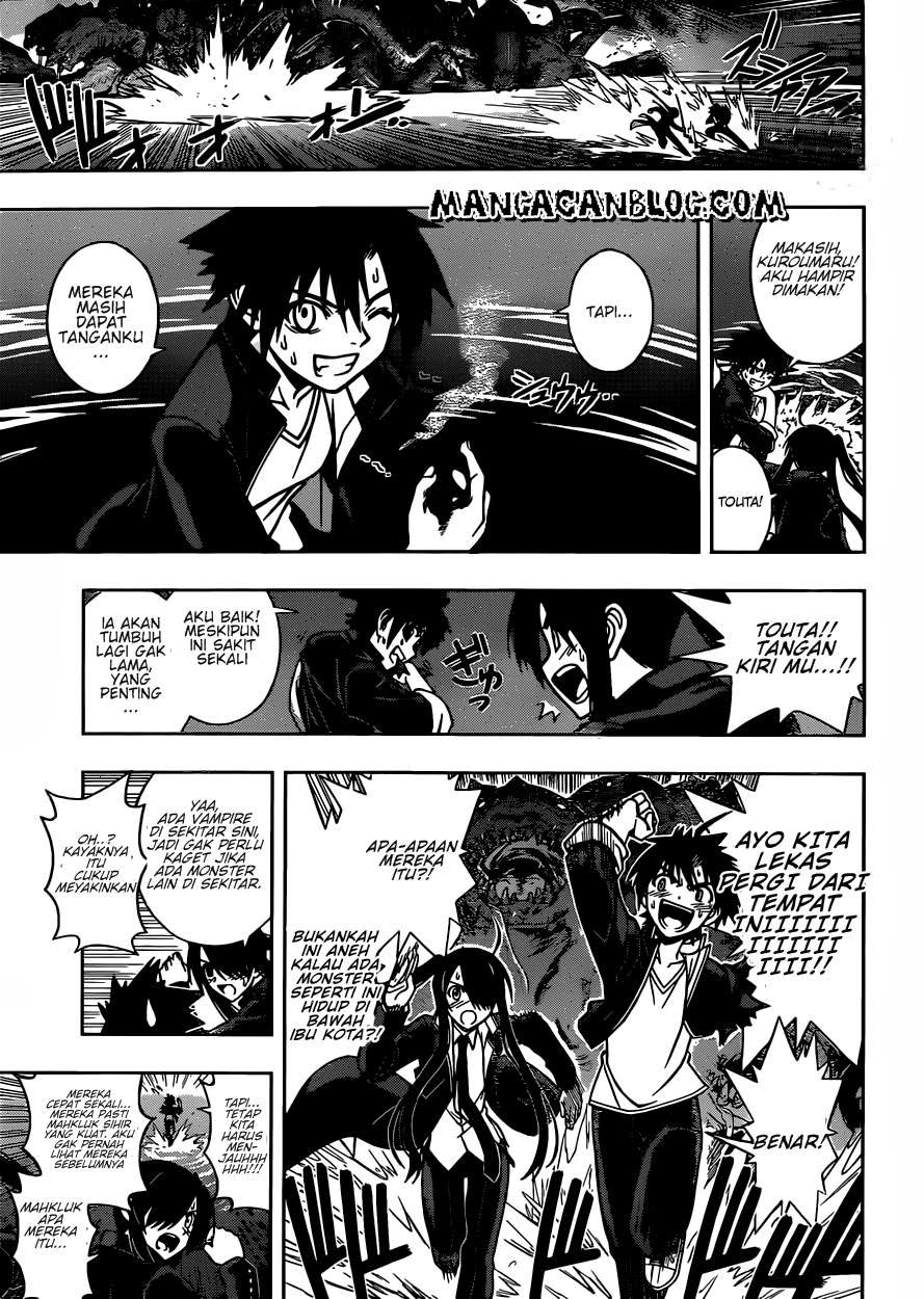 Baca Komik UQ Holder! Chapter 8 Bahasa Indonesia
