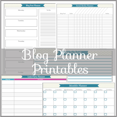 Blog Planner Printables