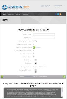 Memasang Script Anti Copas dengan Copyrightbar Protection