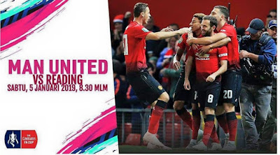 Live Streaming Manchester United vs Reading FA CUP 2018