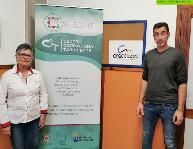 """FUNCATAES y la empresa """"Salguero La Palma, S.L."""" firman un convenio de colaboración para fomentar la inserción laboral de personas con discapacidad"""
