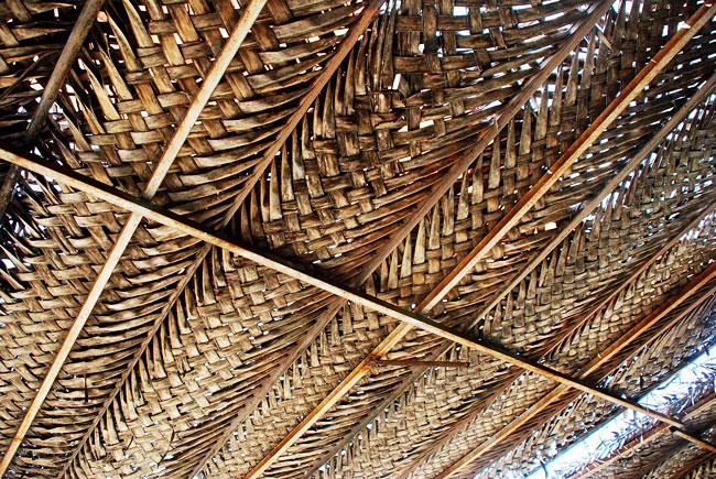 Apuntes revista digital de arquitectura los techos de hoja de palmera en la vivienda - Materiales de construccion las palmas ...