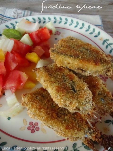 Ogni riccio un pasticcio blog di cucina sardine ripiene for Ricette culinarie