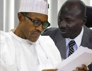 Buhari and EFCC Magu