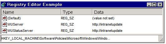WSUS: Configure Automatic Updates using Registry Editor | My