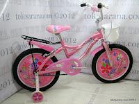 1 Sepeda Anak Kasea Waikiki 18 Inci