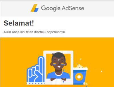 Pengalaman saya diterima Google Adsense Full Approve dengan Cepat