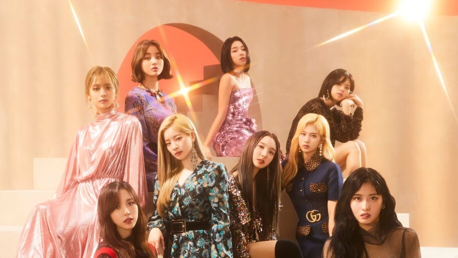 TWICE, Fake and True, Group, Members, 4K, #4.1310