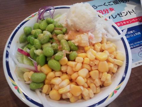 サラダ3 ステーキガスト一宮尾西店9回目