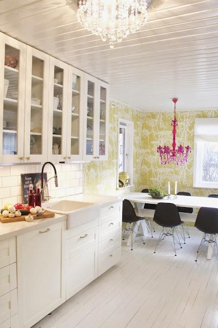 All of irina: vårt fargerike kjøkken.....