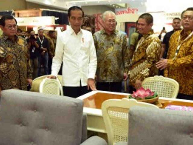 Jokowi Berharap Kualitas Produk Furnitur Tumbuh 2 Digit