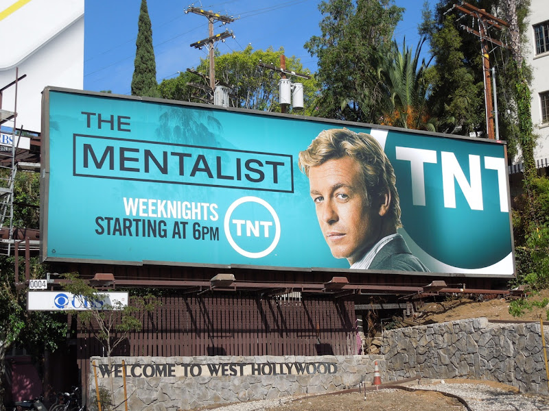 Mentalist TNT billboard