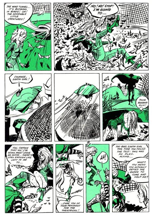 Atomic Kommie Comics: Reading Room: BARBARELLA 4.1