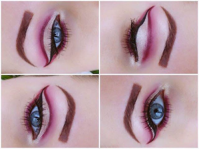 Cut Crease Makeup - Efekt jaskółki