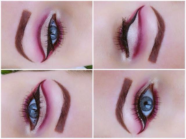 Cut Crease Makeup - Efekt jaskółki