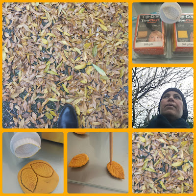 autunno foglie in pasta polimerica you clay to do
