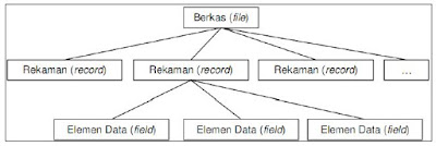 Struktur Hierarki Basis Data