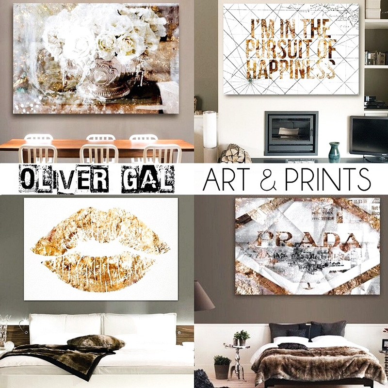 Home decoration best of Oliver Gal art and prints.